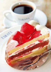 「館」のケーキセット