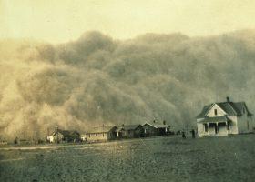1935年テキサス州の砂嵐