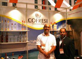 中米ドミニカのラム「COFRESI」もフレーバーが面白い。
