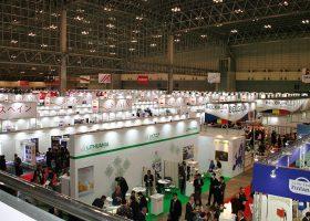 FOODEX 2015。今年の参加国数は78カ国、入場者数は77000人。