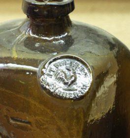出島時代のオランダのジンボトル