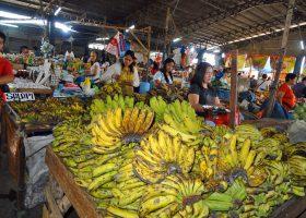 イザベラ州の州都カウアヤン市内の市場