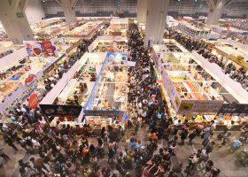 開場はBtoBエリアのほかに、この写真(2016年)のように一般市民が買い物を楽しむことができるBtoCエリアもある。