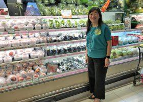 YATA Ltd. CEOの黃思麗(Susanna Wong)さん。「YATA」沙田店で。