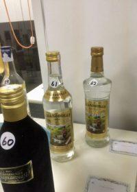 「アクサコフスカヤ」奥の(62)は韓国のインポーターの要請に応じて現地のメーカーがオタネニンジンのエキスを加えた別物で、筆者が狙っていた(61)はクミス(馬乳酒)が隠し味に加えられた旧版。
