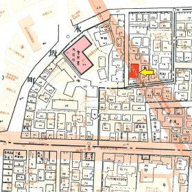 麻布区火災保険特殊地図