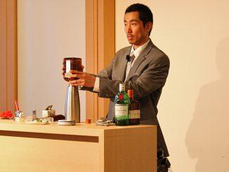 インフュージョンを説明する後藤氏
