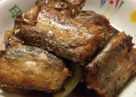紅焼帯魚(太刀魚の中華揚げ煮)