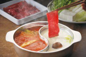 「和食さと」もしゃぶしゃぶを食べ放題で提供。