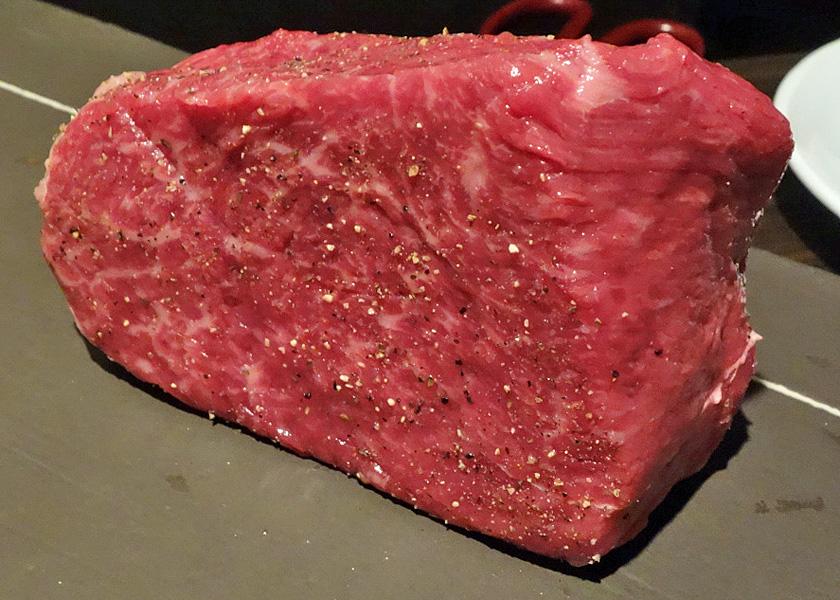 九州和牛ハラミの塊焼き
