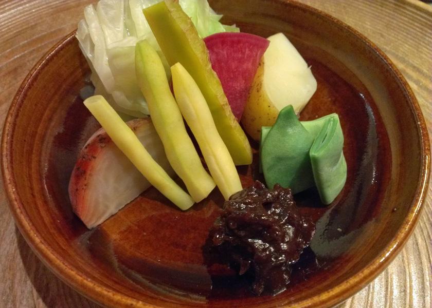 鎌倉野菜の蒸し物
