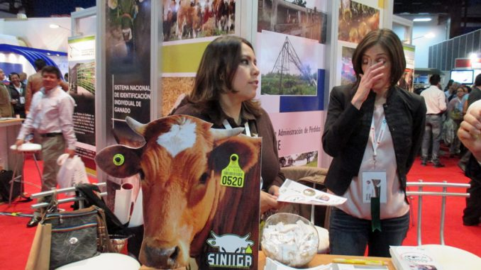 家畜個体識別国家システム(SINIIGA)の法制化のPR