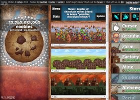 「Cookie Clicker」