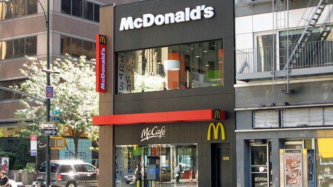 ニューヨークの「マクドナルド」(マックカフェ)