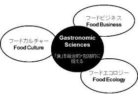 立命館大学食科学部で構想する3つの科目群。