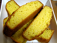 トウモロコシの粉と小麦粉を使って焼くコーンブレッドは、多くの米国人にとって感謝祭に欠かせない食べ物の一つだ
