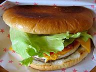 「fresh」なハンバーガー(「LOG KIT」/長崎県佐世保市)