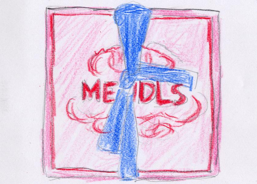 「パティスリー・メンドル」の箱