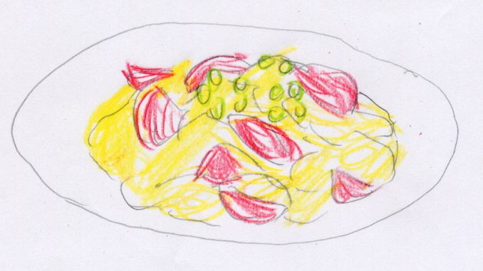 トマトの卵炒め