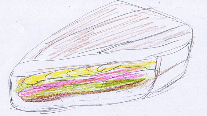フードトラック「EL JEFE」特製のキューバサンドイッチ
