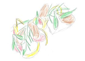 劇中の「オヒョウのグリル 卵のコンフィとコッパと共に」は、ミシュラン二ツ星シェフ、マーカス・ウェアリングが考案・作成した
