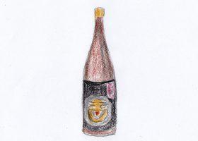 フィリップ・ハーパーが杜氏を勤める木下酒造の定番商品「玉川 自然仕込 純米酒(山廃)」。彼が開発した「自然仕込」シリーズの第1号である。