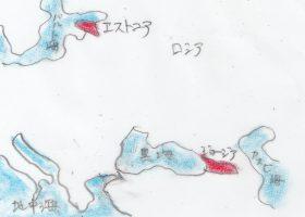 図2 ジョージアとエストニアの位置関係