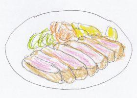 直太朗と千鶴の思い出の料理、ビーフカツレツ