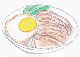 「食神」の勝負飯「叉焼煎蛋飯」改め「黯然銷魂飯」。武侠小説が名の由来となっている。