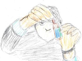 「コンテイジョン」より。クラムウィディが投稿した、レンギョウのエキスでMEV-1を直したというフェイク動画が、人々をパニックに陥れていく。