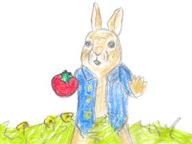 「ピーターラビット2 バーナバスの誘惑」より。アナグマ・トミーからトーマスのトマトを守ったピーターだったが、逆に盗ろうとしていたと誤解されてしまう。