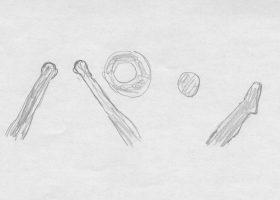 「落第はしたけれど」(1930)で学生たちが手と足で障子に映し出した「パン」の文字
