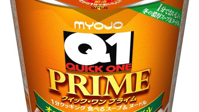 「明星 Quick1 PRIME オニオングラタンスープヌードル」