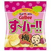 すっぱうめぇポテト す~ハー 梅味