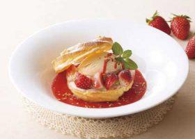 「苺のパリブレスト」(530円)