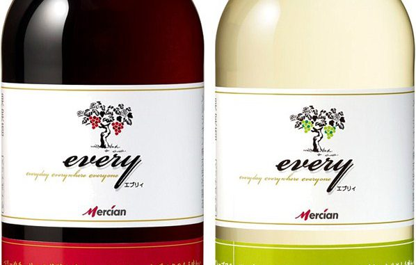 「メルシャン エブリィ」PETボトル(720ml、赤・白)