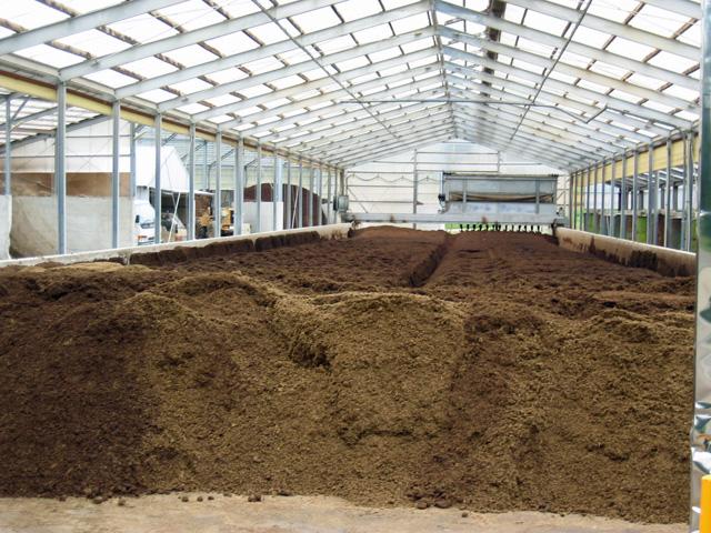 堆肥プラント
