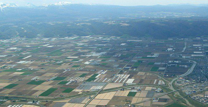 北海道の自然と農村(記事とは直接関係ありません)