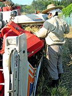 体も機械も使う農業