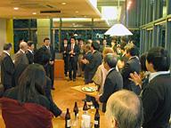 第11回ソバ研究会。懇親会でも活発な情報交換、交流があった。